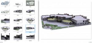 مطالعات دانشکده معماری 70ص + نقشه + رندر