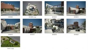 مطالعات باغ موزه 130ص + نقشه + رندر