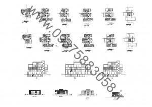 مطالعات بیمارستان کودکان 100ص + نقشه + رندر