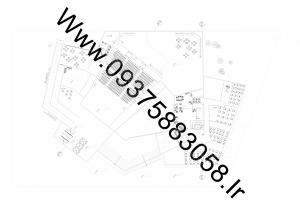 مطالعات خانه تئاتر 100ص + نقشه + رندر