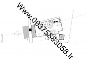 مطالعات سفارت خانه + نقشه + رندر