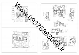 مطالعات برج مسکونی پایدار + نقشه + رندر