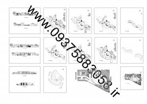 مطالعات موزه مشاهیر + نقشه + رندر