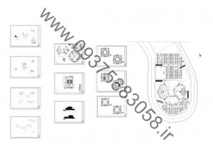 مطالعات هتل 135ص + نقشه + رندر