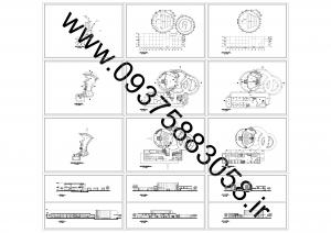 مطالعات پردیس هنری 170ص + نقشه + رندر