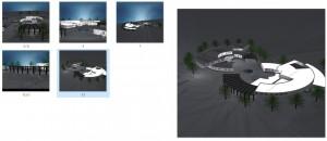 مطالعات خانه معمار 114ص + نقشه + رندر