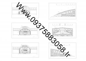 مطالعات مترو 130ص+نقشه+رندر