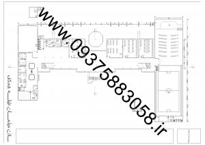 مطالعات مدرسه مدرن 140ص + نقشه + رندر