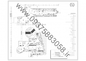 مطالعات مرکز نگهداری کودکان خیابانی 290ص + نقشه + رندر