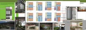 مطالعات برج باغ پی دی اف + نقشه  + رندر