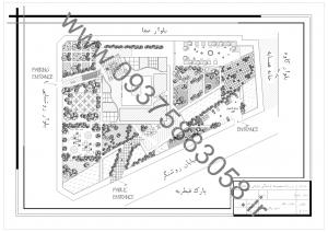 مطالعات نیایشگاه زرتشت 130ص + نقشه + رندر