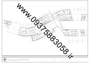 مطالعات هتل + نقشه + رندر