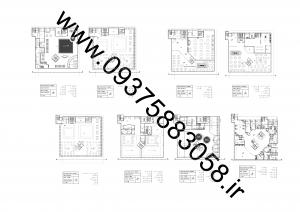 مطالعات هتل 140ص پی دی اف+ نقشه +رندر