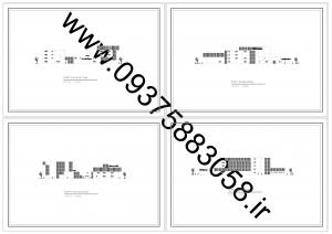 مطالعات مدرسه هنر و معماری 400ص + نقشه + رندر