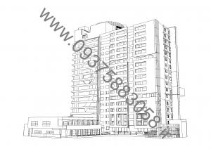 مطالعات هتل 300ص + نقشه + رندر