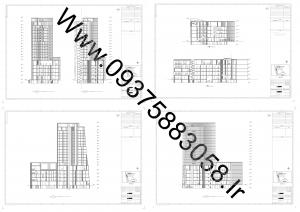 مطالعات مجتمع تجاری مسکونی 85ص+نقشه+رندر