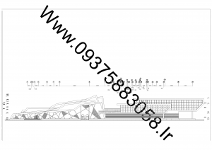 مطالعات ایستگاه راه آهن 140ص + نقشه + رندر